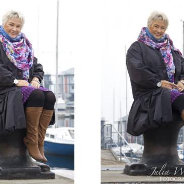 Portraitfotografie in Flensburg – Setcard für Birgit