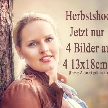 Angebot: Herbstshooting jetzt nur 120 € – gilt bis 6.11.2015