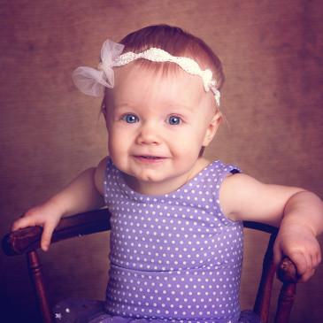 Kleine Ballerina – Kindershooting im Studio