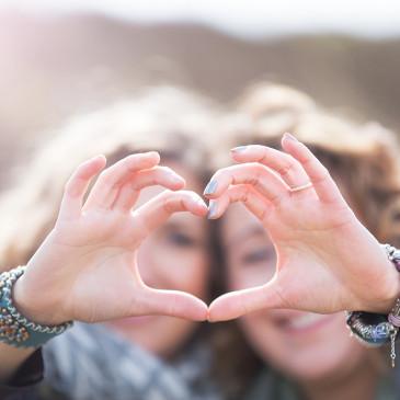 Freundinnenshooting in Nordfriesland – Ein Herz und eine Seele