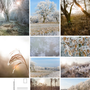 Postkarten Winterkollektion Set 2 – 10Stk.