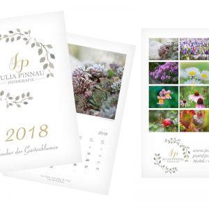 Wandkalender 2018 – Zauber der Gartenblumen