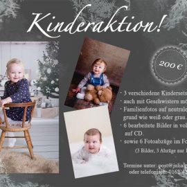Weihnachtsaktion – Kinder- und Familienfotos