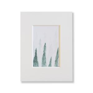 Kunstdruck Aquarell- Wald