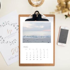 Klemmbrett-Kalender 2019 – Mit dem Meer durch das Jahr