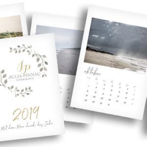 Wandkalender 2019 – Mit dem Meer durch das Jahr