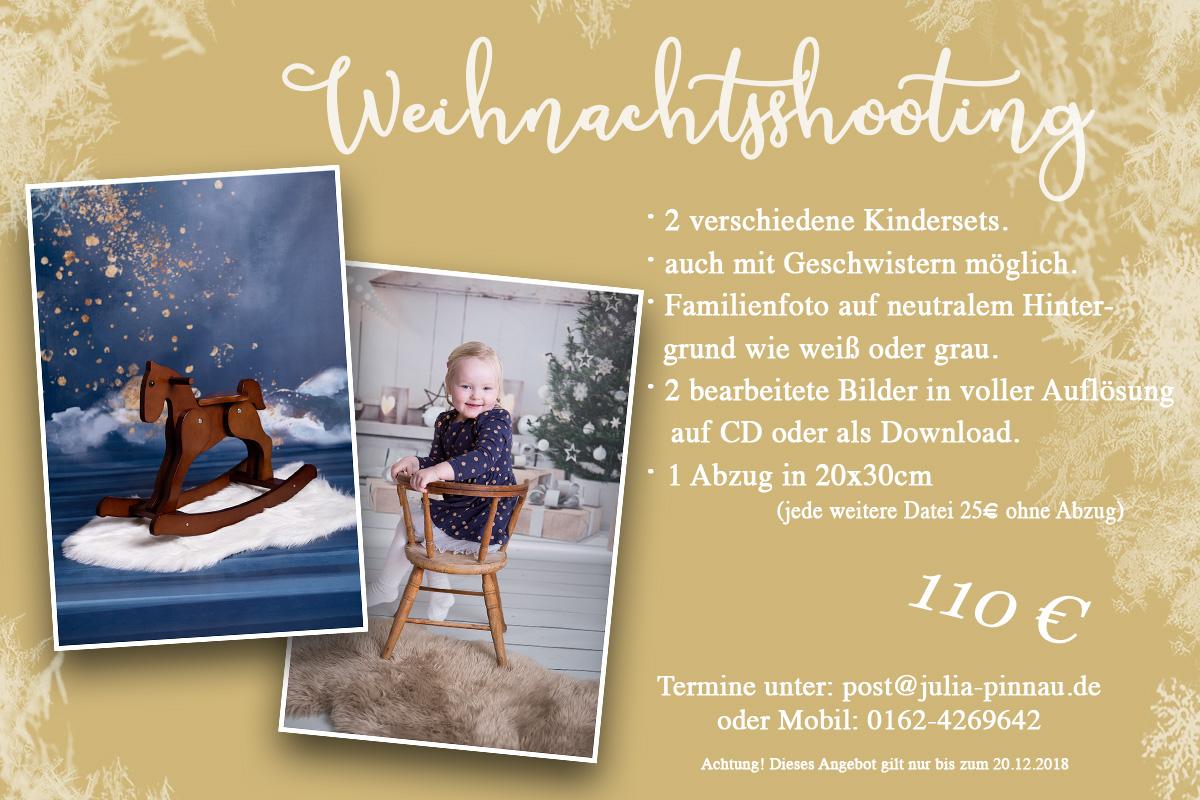 Weihnachtsaktion | Julia Pinnau - Fotografie