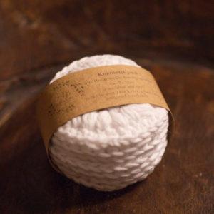 Kosmetikpads – aus Baumwolle weiß